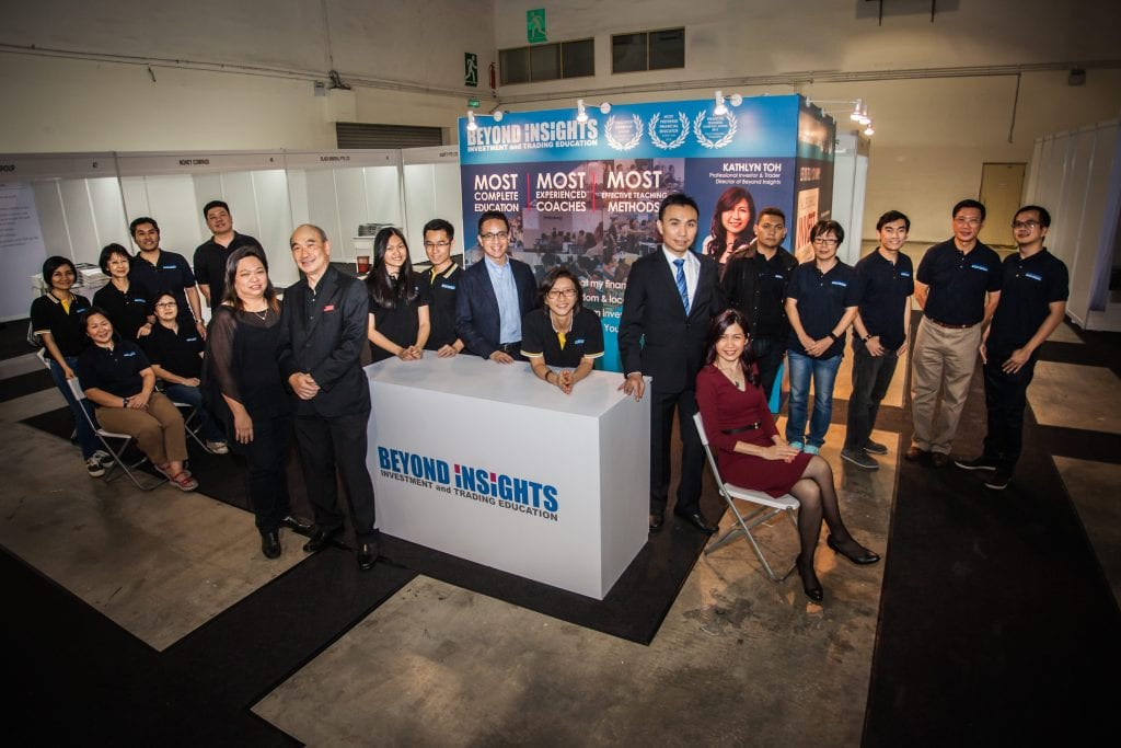 The awesome Beyond Insights team at Invest Fair 2016