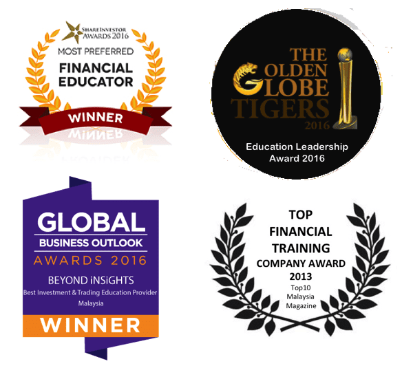 Beyond Insights Investment and Trading Education has won multiple awards over the years.